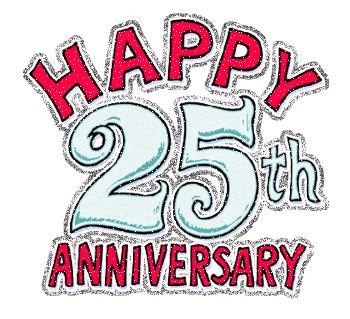 never growing happy 25th wedding anniversary
