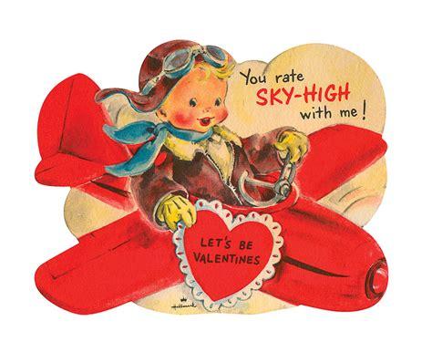 vintage valentines mossberg company inc aaaahhh valentine s day
