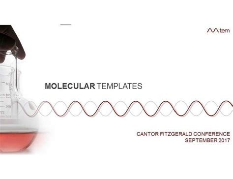 molecular templates mtem presents at cantor fitzgerald