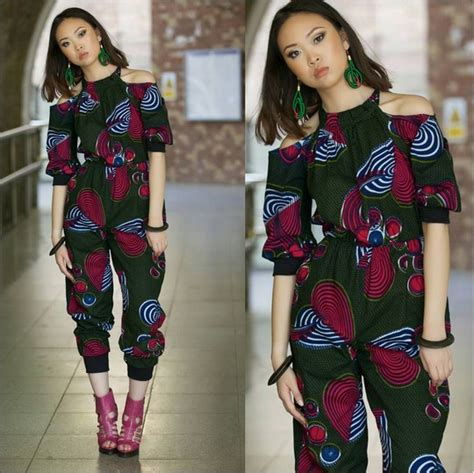 ankara suit styles top ten beautiful ankara jumpsuit styles for ladies dabonke
