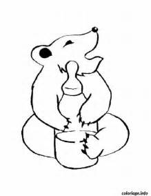 coloriage bebe animaux dessin