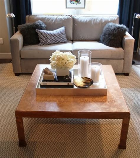 maison five ways to style your coffee table