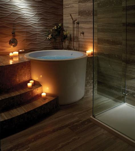 Japanese Style Bathtubs by Bask In Tranquility With A Japanese Style Bathroom Kukun