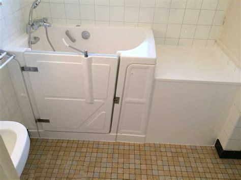 installation baignoire vallon 117 avec une porte 224