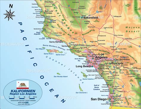 California Search Los Angeles Info Californie Los Angeles Carte Voyages Cartes