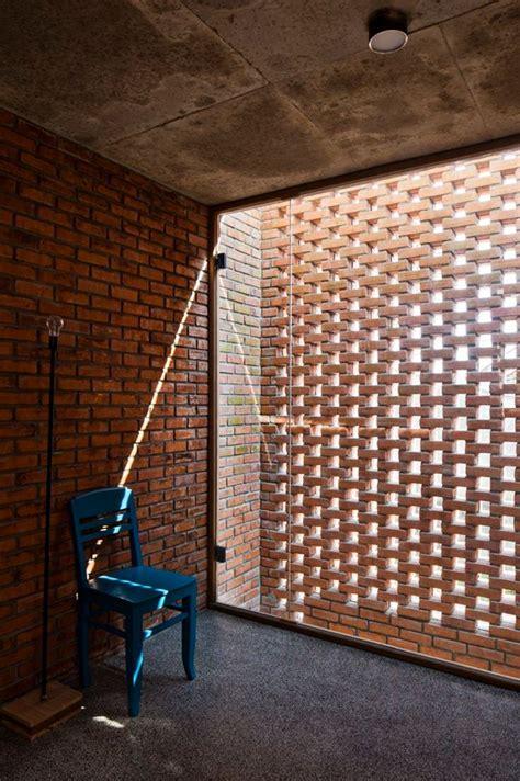 Designing A Studio Apartment brick and glass interior design ideas