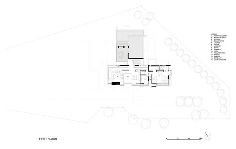 Cape Floor Plans First Floor Plan Montrose House Cape Town By Saota