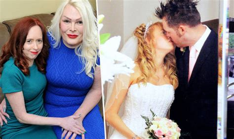 transgender husband marries wife the wife of a transgender woman goes out on the pull