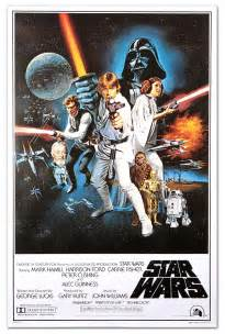 classic star wars movie posters thinkgeek