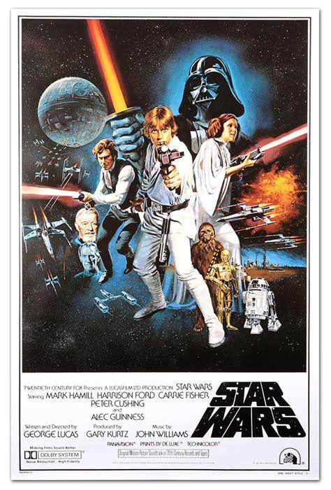 Classic Star Wars Movie Posters   ThinkGeek