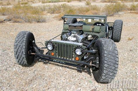 Willys Jeep Rat Rod Willys Jeep Rat Rod Hotrod Unique