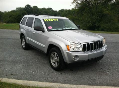 silver jeep grand 2006 find used 2006 silver jeep grand limited sport