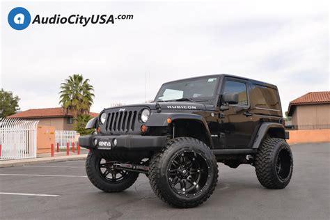 matte black jeep 2 door 22 quot fuel wheels d531 hostage matte black rims 6 quot