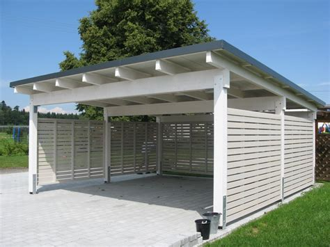 carport holz news