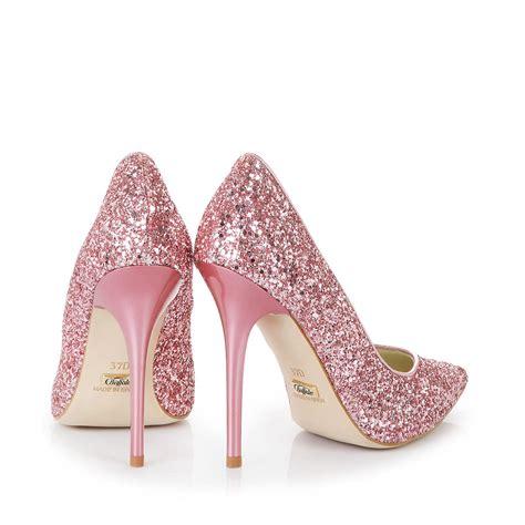 glitter pink high heels buffalo glitter heels in pink buy in buffalo