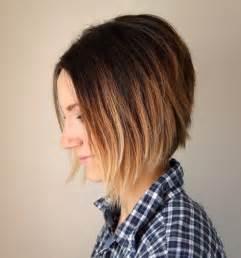 Short ombre a line bob haircut pinterest