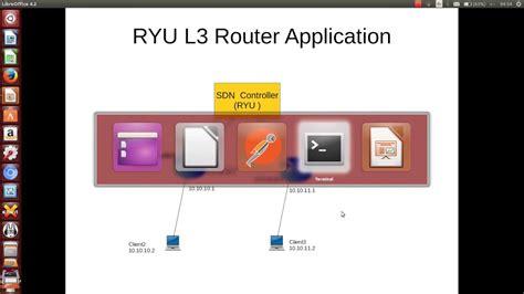 Router Ryu Sdn Router Demo