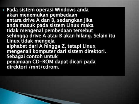 Buku Window Dan Linux perbedaan sistem operasi linux dan windows tri yulia hadi utami