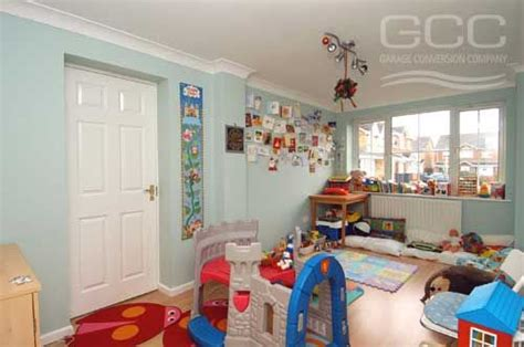 turn your garage into a nursery or a playroom space