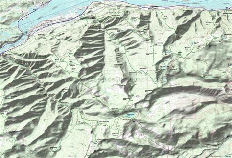 map of oregon eagle creek columbia river gorge wyeth mount defiance eagle creek
