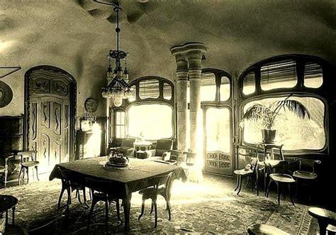 casa batllocomedor barcelona los muebles de gaudi