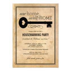 housewarming new home sweet home invites