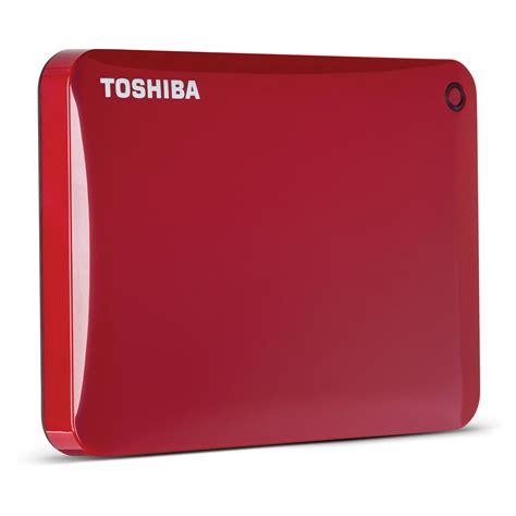 Toshiba 500gb Canvio Connect Portable Drive toshiba 500gb canvio connect ii portable drive hdtc805xr3a1