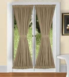 solid taupe khaki colored french door available