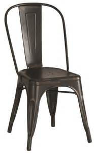 furniture romantic black metal dining chairs for awesome