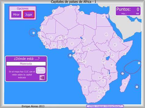 mapa de africa interactivo mapa interactivo de 193 frica capitales de 193 frica 191 d 243 nde