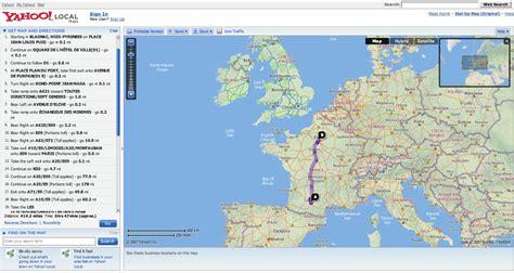 mapquest yahoo yahoo maps enrichi comparatif et test adsl et fibre