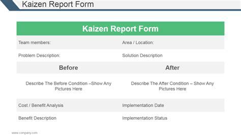 kaizen template powerpoint gantt chart for 5s implementation gantt chart