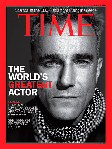 Home Design Magazine Covers by Time Magazine Cover The World S Greatest Actor Nov 5
