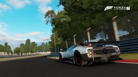 pagani dealership forza 7 specialty dealer update includes pagani mclaren