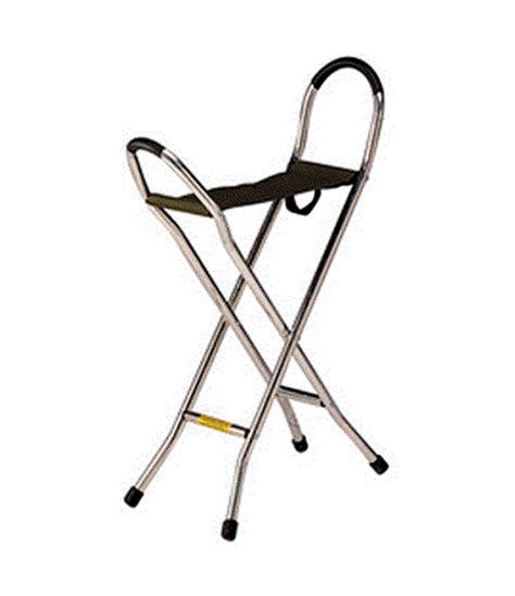 aluminium walking stick stool