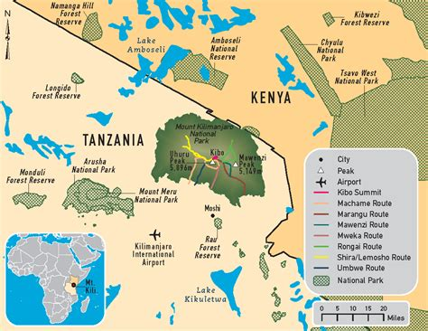 mt kilimanjaro map mount kilimanjaro pictures posters news and on your pursuit hobbies interests and