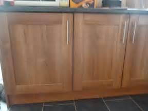 B Q Kitchen Cabinet Doors Walnut Shaker Kitchen Cupboard Doors B Q In Rochester