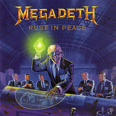 best megadeth album 18 greatest animated metal album covers