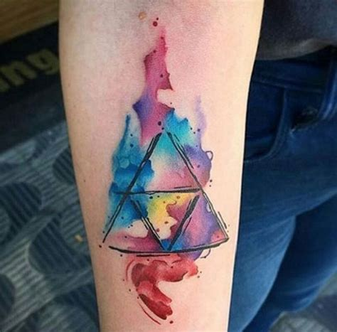 watercolor triangle tattoos 25 best ideas about glyph on glyphs