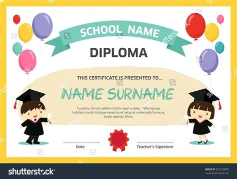 Free Graduation Certificate Templates For Word