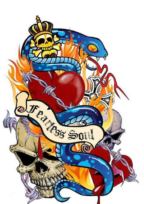 ed hardy home decor the gallery for gt ed hardy heart tattoo designs