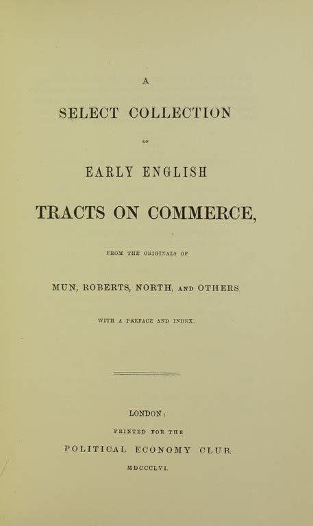 Early Commerce file mcculloch early tracts on commerce 1954 5889040 tif