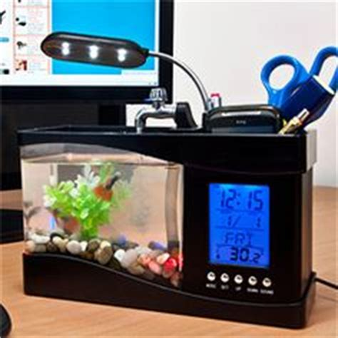 fish tank desk organizer office cubicle decor ideas on cubicles office