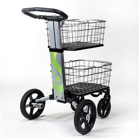 Small Condo Design personal grocery cart collapsible shopping basket