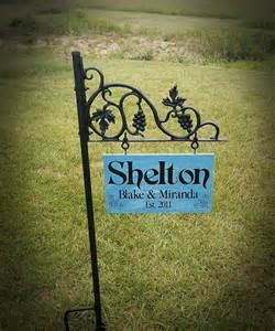 personalized backyard signs personalized yard signs gift ideas garden signs