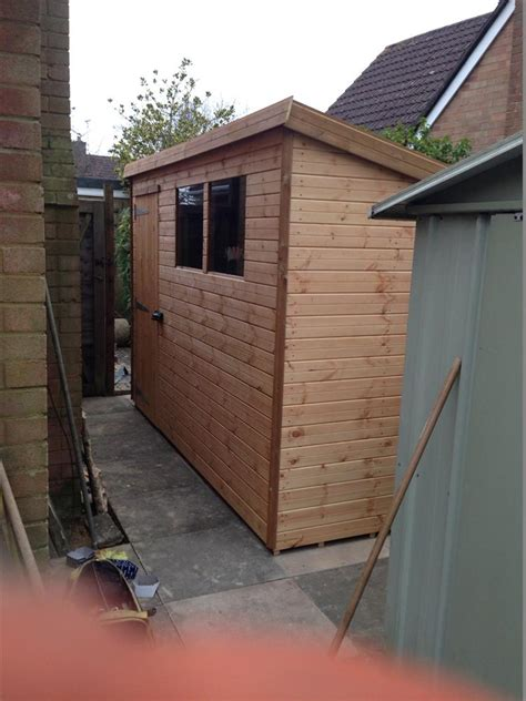 8x4 Wooden Shed by Gallery Customer S Sheds Beast Sheds
