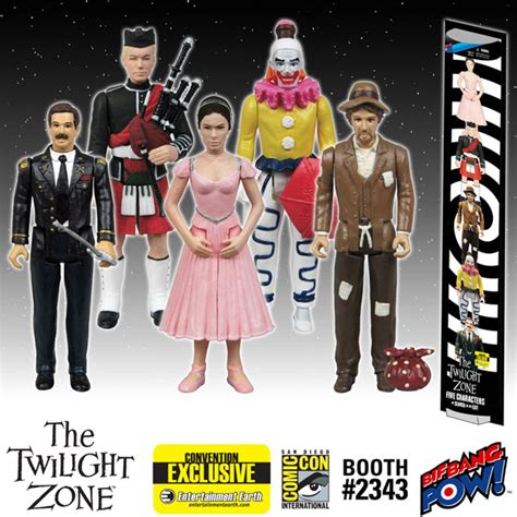 Five In Search Of An Exit The Twilight Zone Five Characters In Search Of An Exit Figures