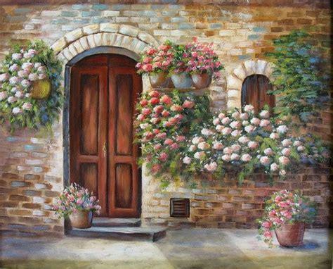 Tuscan Door An Original Acrylic Painting The