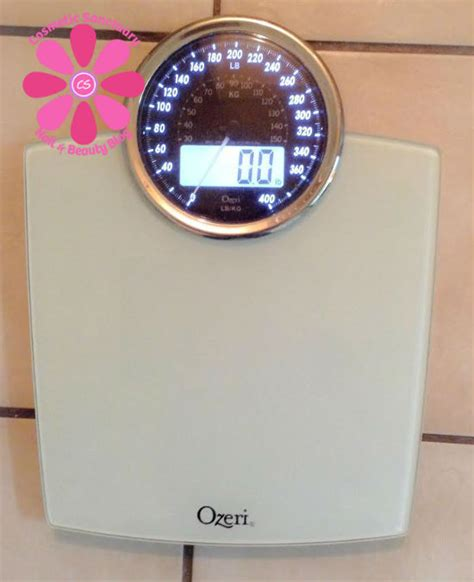 ozeri rev digital bathroom scale review cosmetic sanctuary