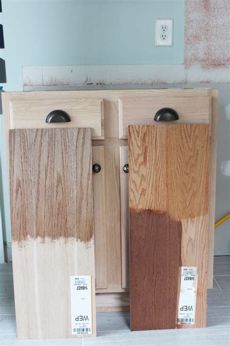 staining unfinished kitchen cabinets how to stain unfinished cabinets mf cabinets